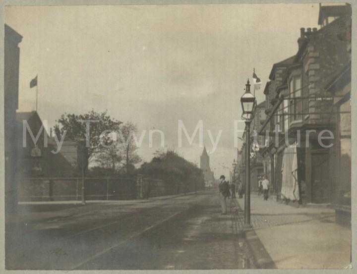Queen Victoria's Golden Jubilee Infirmary Newport Road 1887