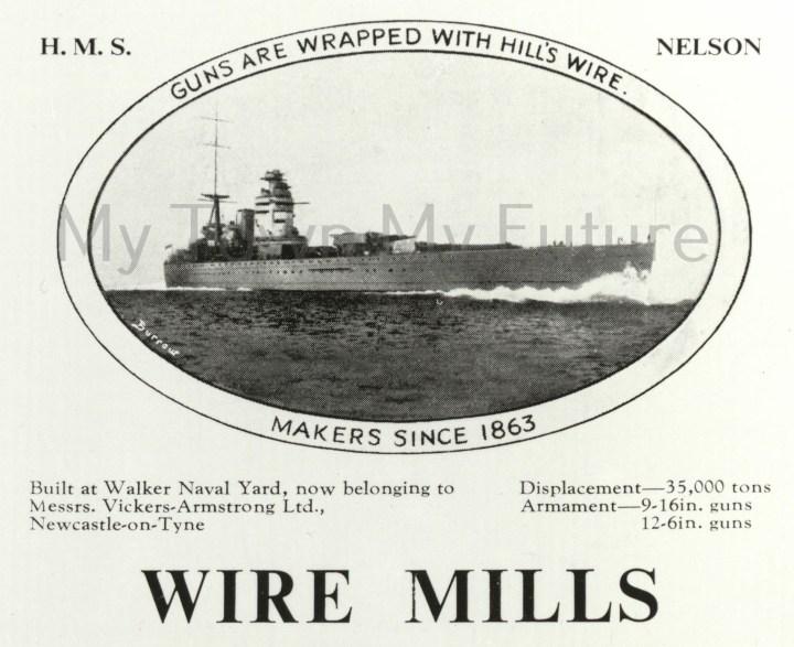 Richard Hill Wireworks, Newport