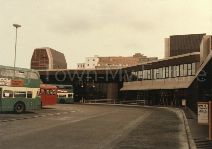 Photo of Middlesbrough Bus Station.