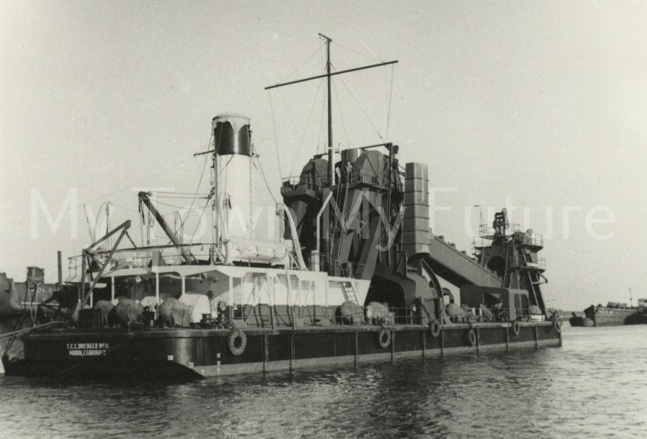 TCC Dredger no. 11 - Middlesbrough, Department of Planning - Cleveland County Council