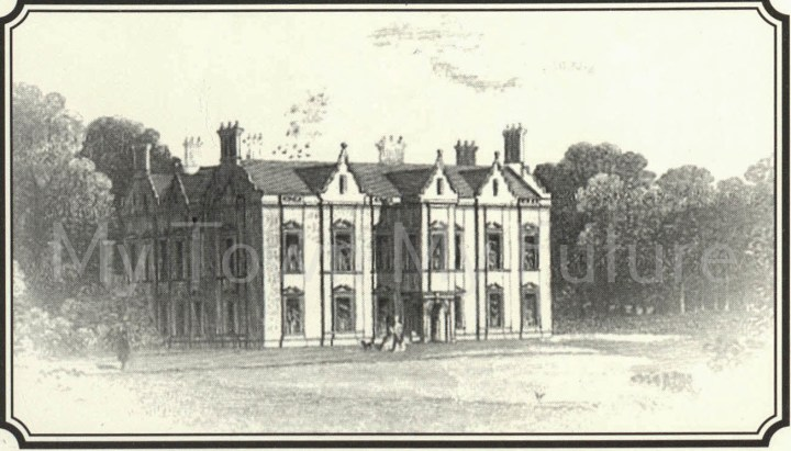 Acklam Hall Engraving 1845