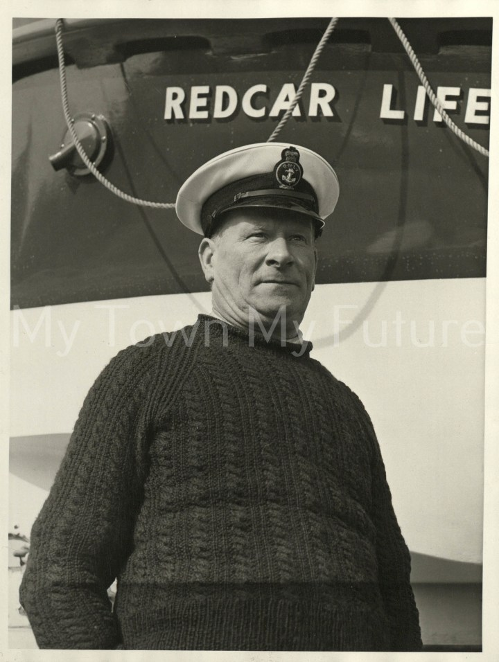 Mr Ron Dixon, Coxswain, Redcar Lifeboats
