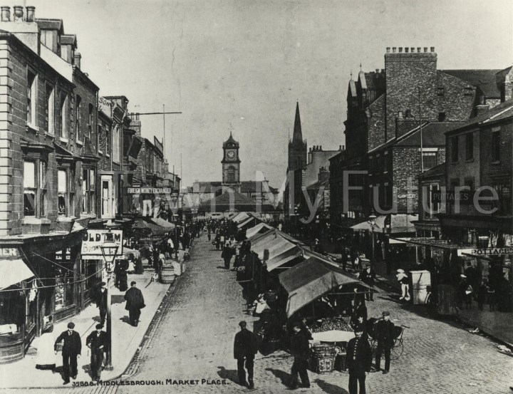 Market Place, South Street, Middlesbrough