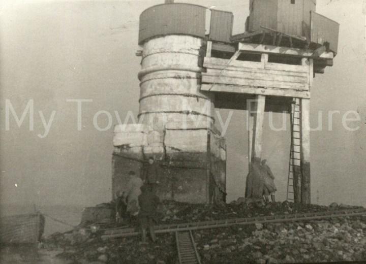 Teesmouth South Gare 1954