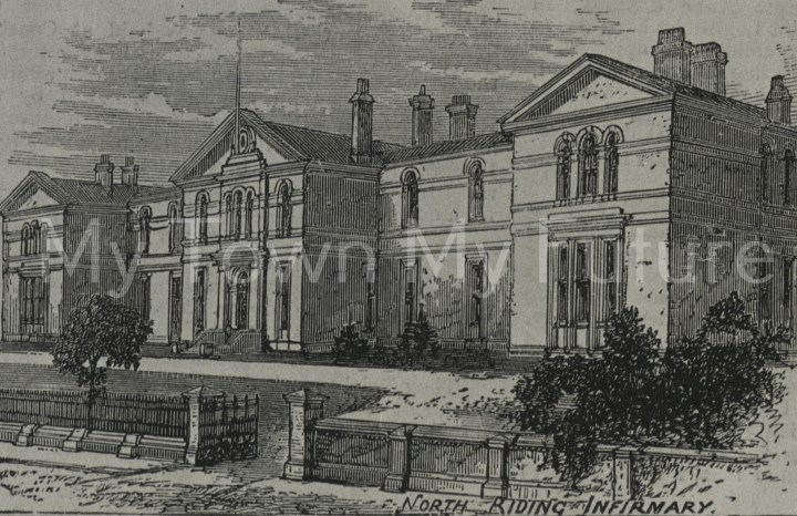 Middlesbrough North Riding Infirmary, 1881, Department of Planning - Cleveland County Council