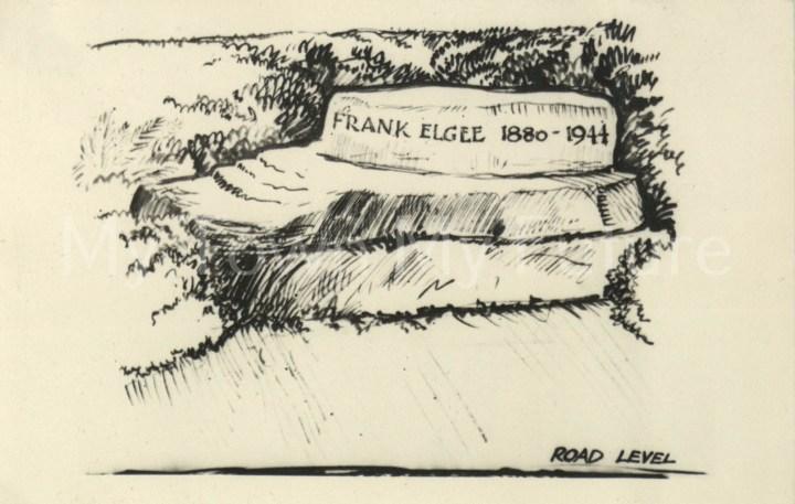 Frank Elgee grave