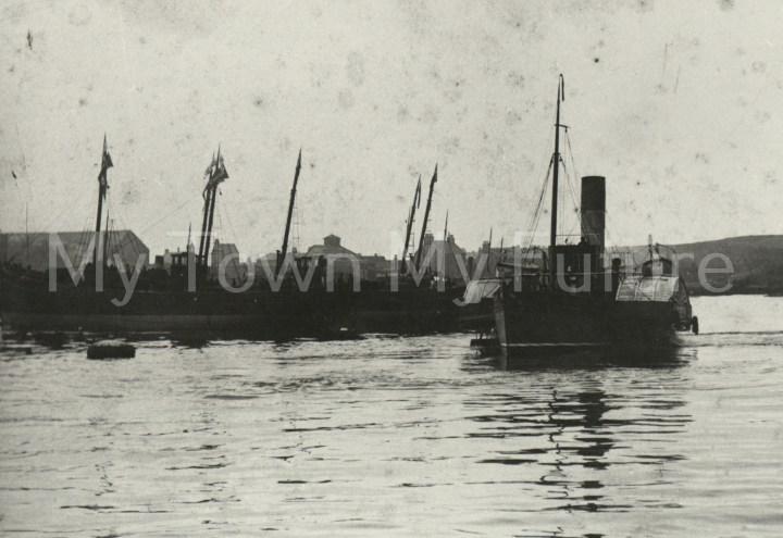 Paddle Steamer,Sir George Elliot