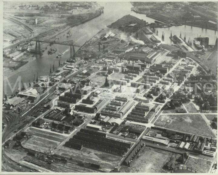 Middlesbrough St Hilda's, 1964, Aerofilms