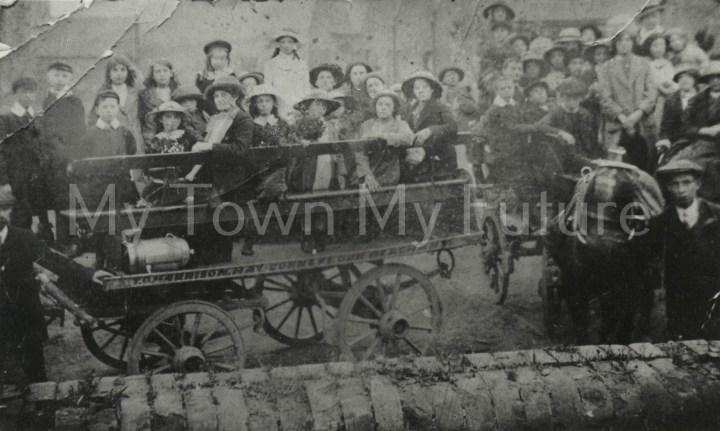 Centenary Methodist Church Sunday School Trip (1908)