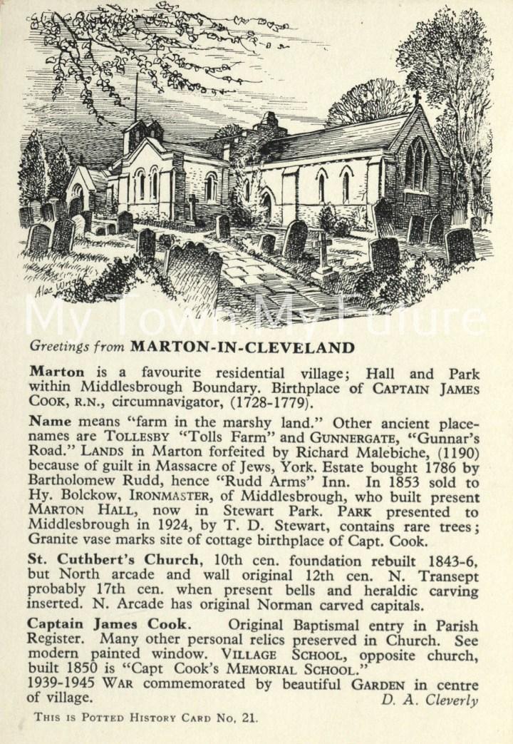 St Cuthberts Church,Marton