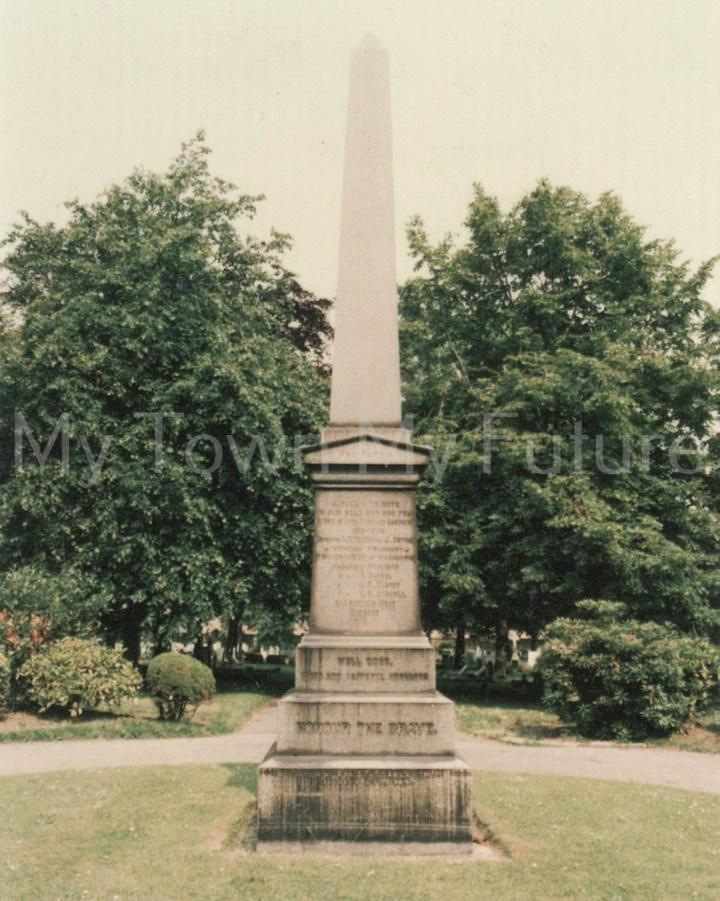 South African Memorial Eston Cemetery