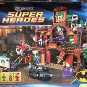 Lego The Dynamic Duo Funhouse Escape 6857 -- NIB -- Harley Quinn, Riddler, Joker