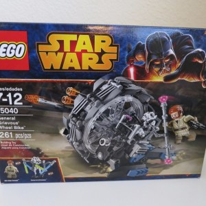 Brand New Factory Sealed LEGO Star Wars 75040 General Grievous' Wheel Bike
