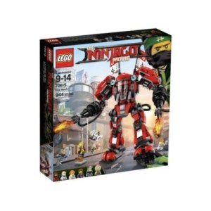 LEGO Ninjago Movie Fire Mech 70615 Building Kit 944 Piece