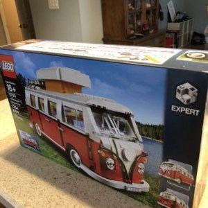 NEW SEALED Lego Creator 10220 Volkwagen VW T1 Camper Van Bus NISB