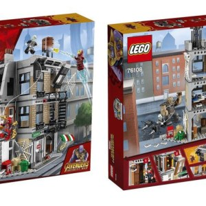 LEGO Marvel Super Heroes Avengers: Infinity War Sanctum Sanctorum Showdown 76108