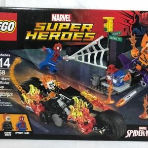 Lego Marvel 76058 Spider-Man: Ghost Rider Team-up - New Sealed-Retired-Hobgoblin