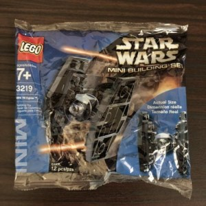 LEGO Star Wars Mini Building Set Mini TIE Fighter (3219) New In Sealed Poly Bag