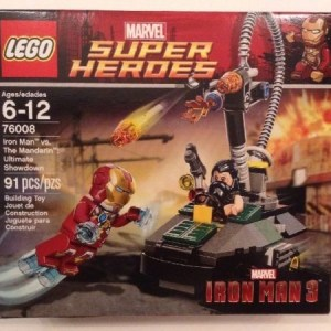Lego Marvel Super Heroes 76008 Iron Man vs The Mandarin Set NIB Sealed Retired