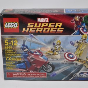 LEGO Marvel Super Heroes Captain America's Avenging Cycle 6865 NEW SEALED