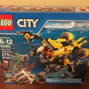 LEGO City Deep Sea Submarine 60092, Brand New - Retired!