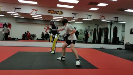 Training im Agoura Hills World Champion Karate
