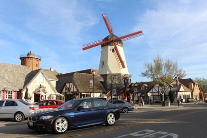 Kleines dänisches Städtchen in Kalifornien