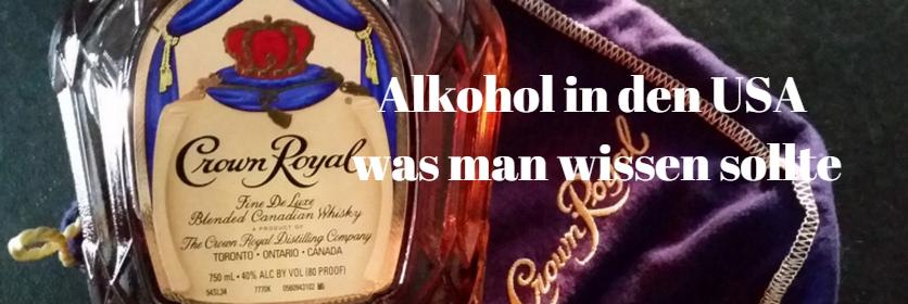 Wo kann man in den USA Alkohol kaufen