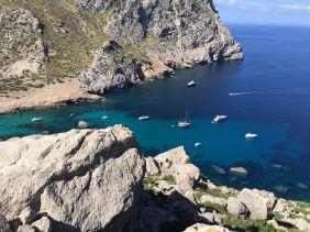 Cala Mesquida auf der Insel Mallorca