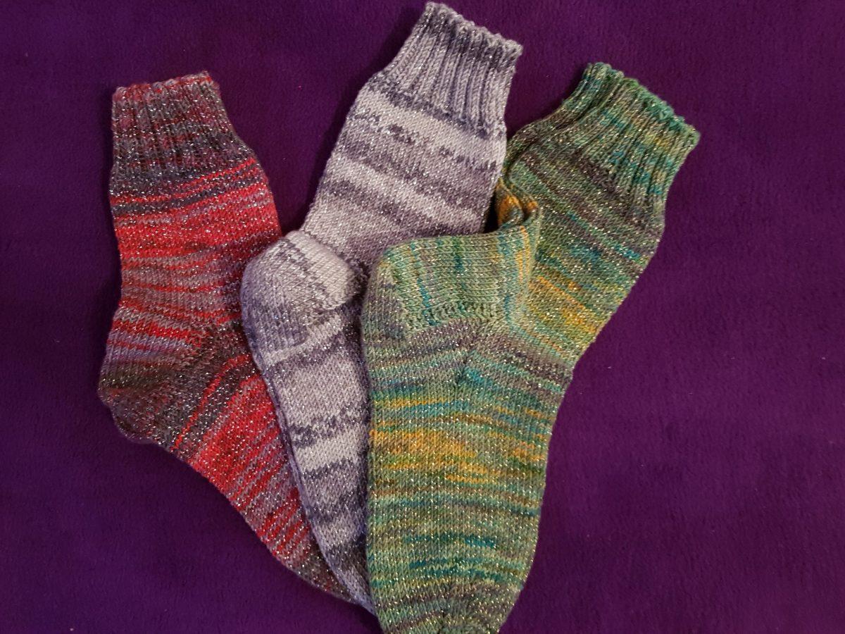 Socken stricken wie Oma mit ganz einfacher Anleitung!!