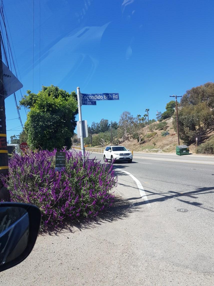 Weg zum Escondido Beach