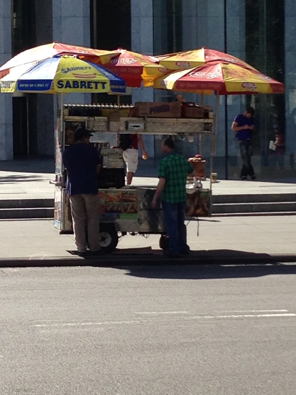 Hot Dog Seller