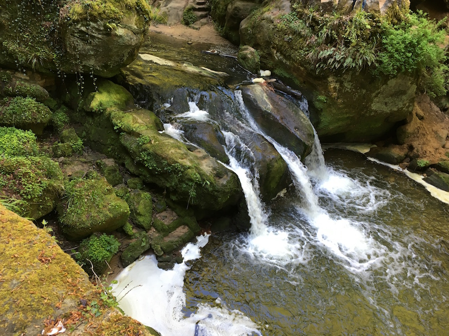 La cascade de Schiessentümpel