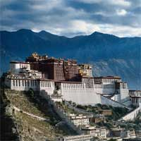 Palatul Potala din Tibet, China