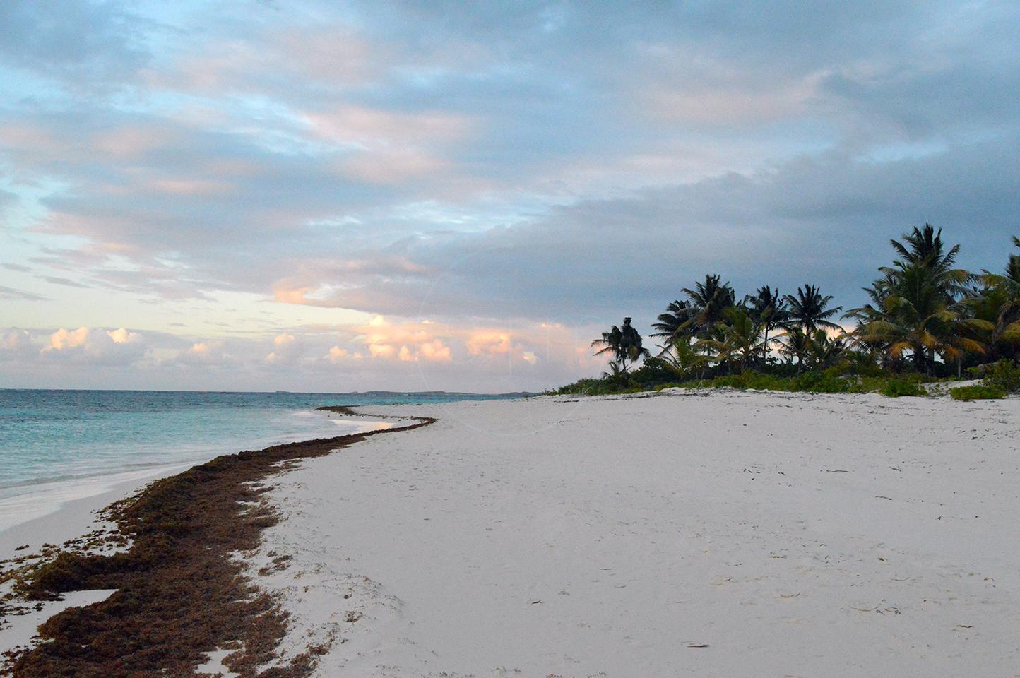 Beginning of Sunset on Shoal Bay