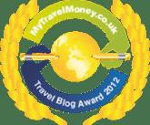 Finalist - MyTravelMoney.co.uk's Travel Blog Awards 2012