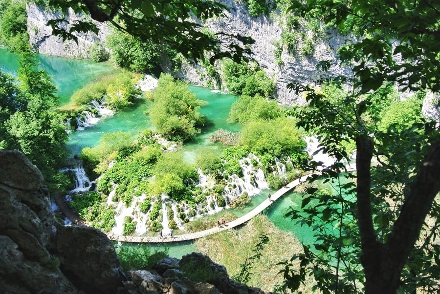Plitvice Meren Kroatie