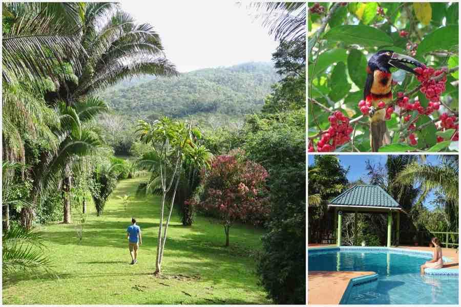 Reisroute Belize
