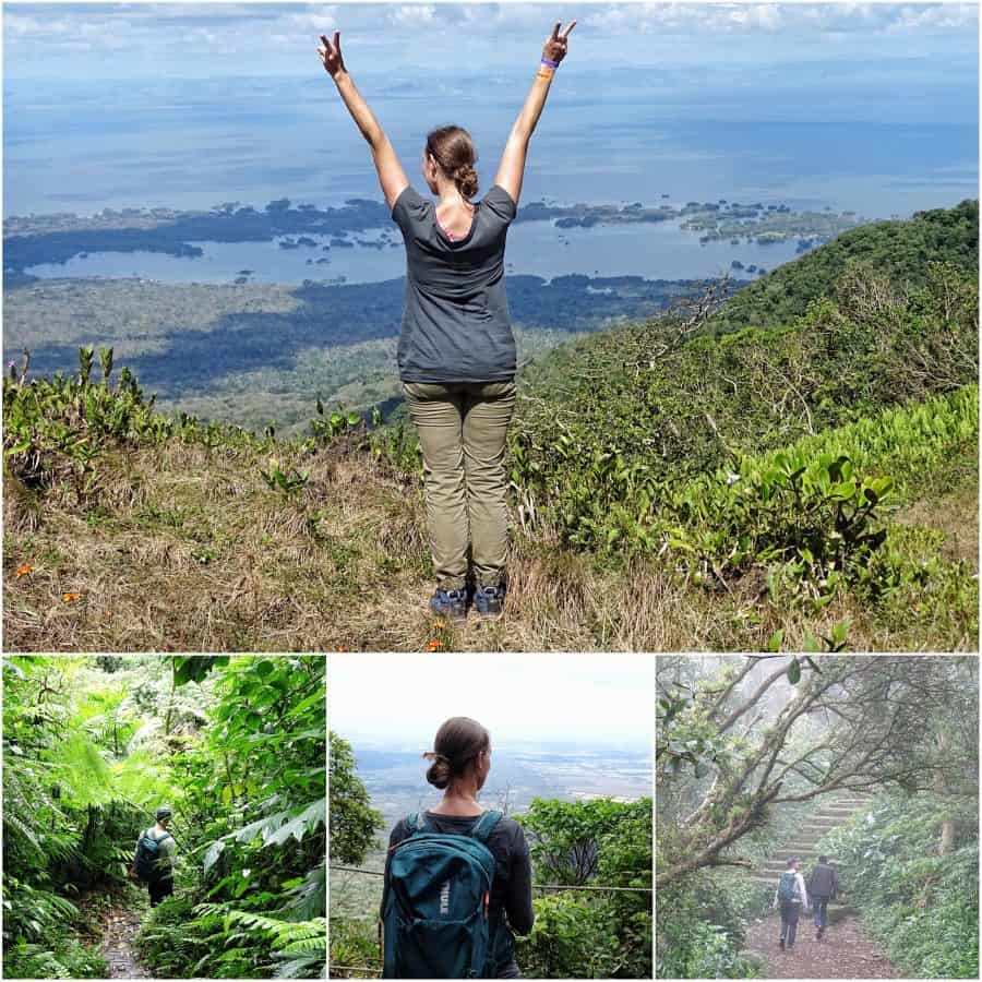 Reisroute Nicaragua