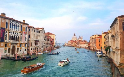 Survive Venice on a Budget - Grand Canal water bus