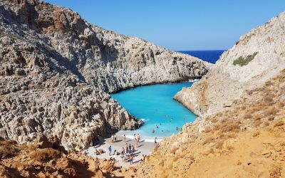 5 breathtaking places in Crete to put on your bucket list - Seitan Limani Beach