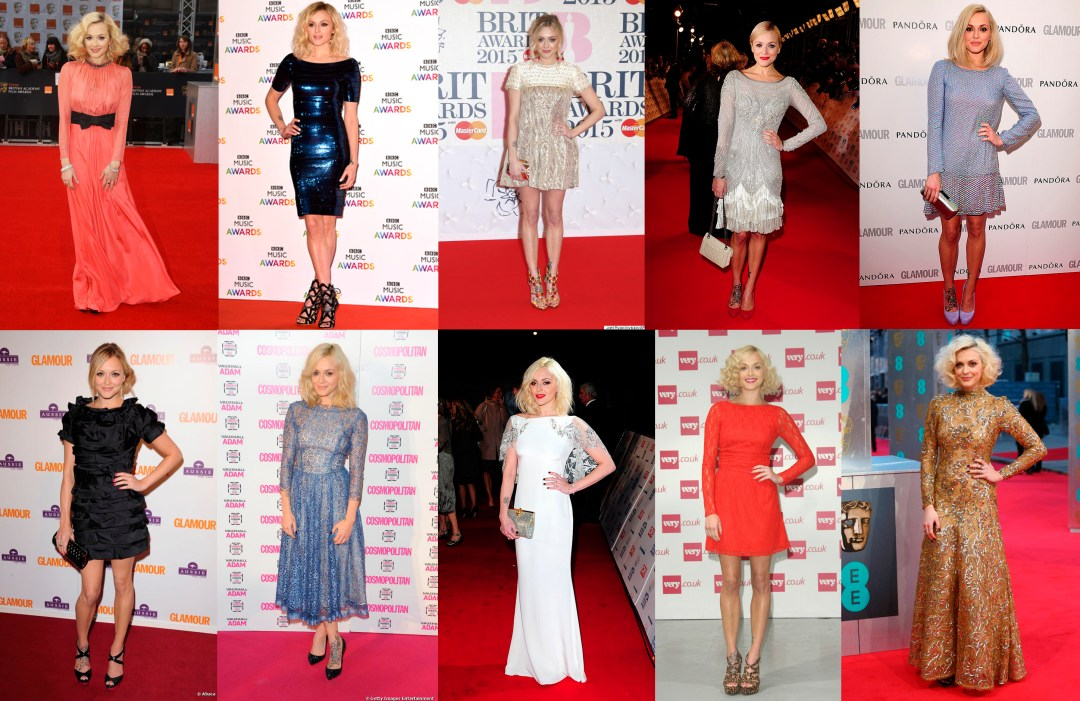 Fearne Cotton Red Carpet