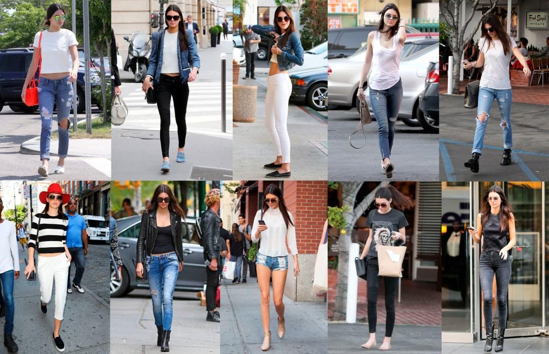 Kendal Jenner Street Style