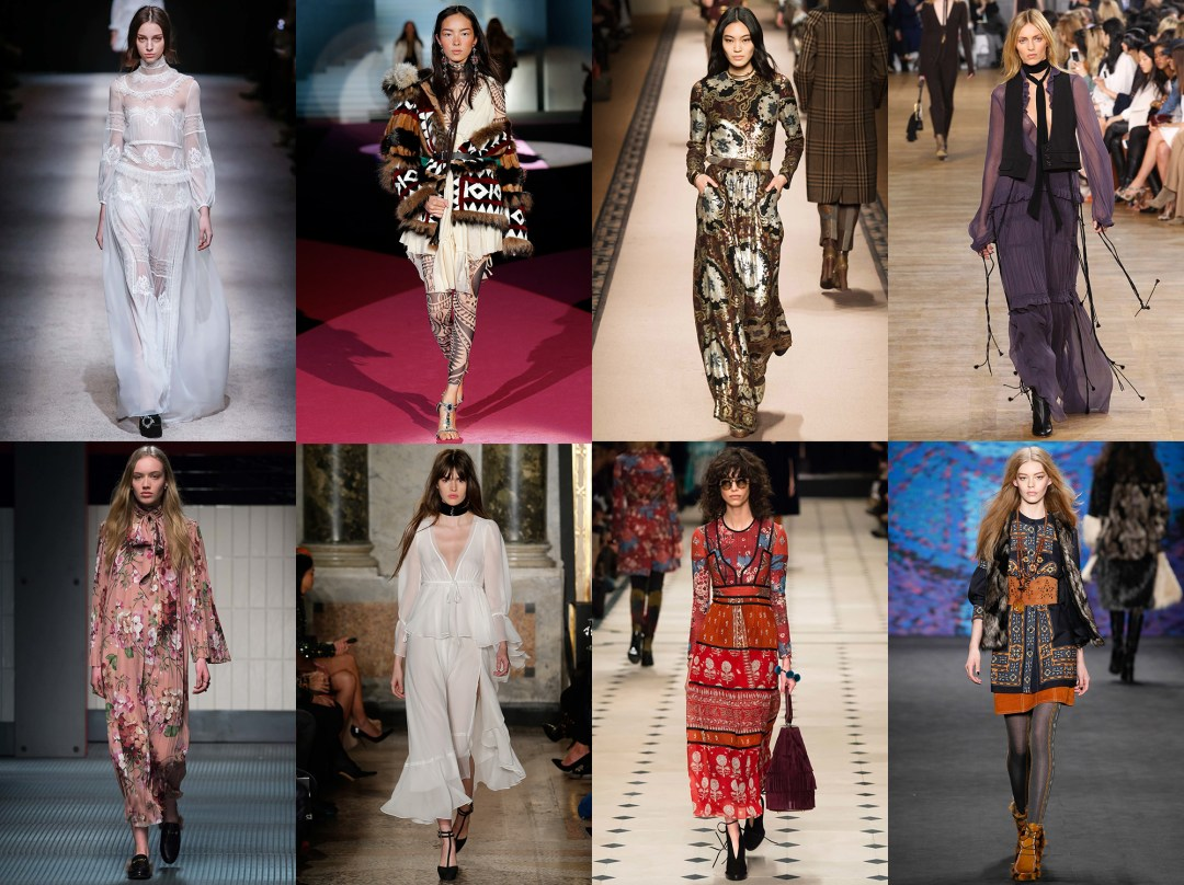 Tendencias de temporada boho