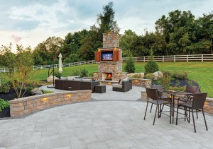 Creating a Comfortable Outdoor Living Space with Stone