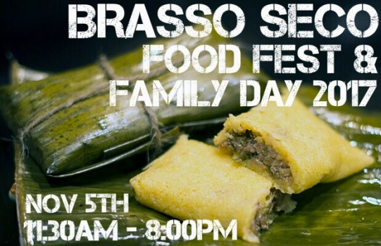 brasso seco food festival