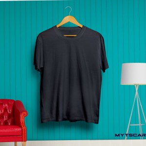Black plain t shirt @299 Only