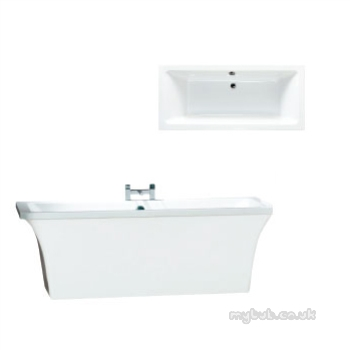 Assai Freestanding Bath And Surround White Phoenix