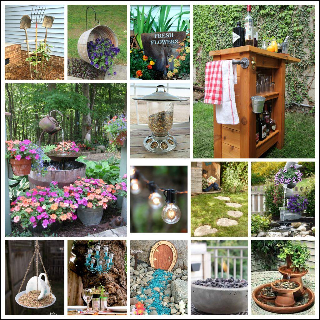 23 Best DIY Backyard Projects and Garden Ideas - My Turn ... on Diy Small Patio Ideas id=46105