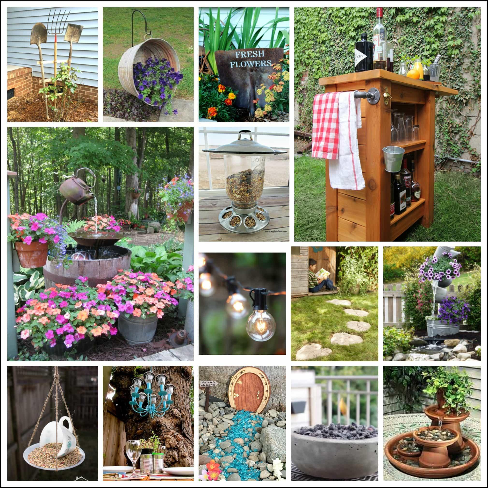 23 Best DIY Backyard Projects and Garden Ideas - My Turn ... on Diy Back Patio Ideas id=93833